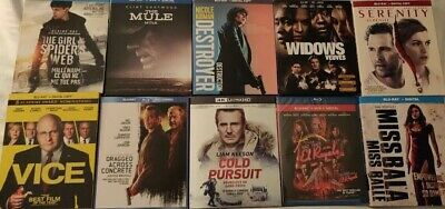 BLU-RAY DVD Lot!! All 2019 Releases!! $300 Value on Amazon!! 10 Great Titles!!