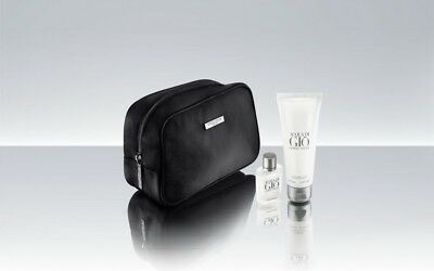 Giorgio Armani Male Amenity Kit Qatar Airways Business Class