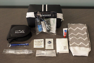 United Airlines Polaris business class amenity kit - NEW & SEALED