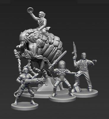 Mantic Mars Attacks Attack From Space Box MINT