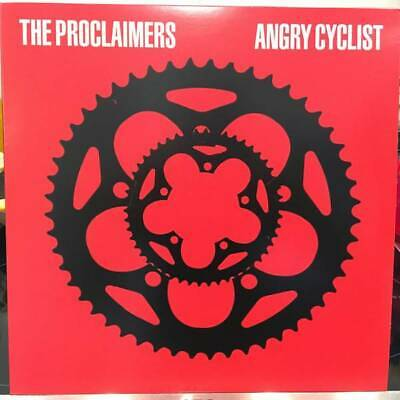 The Proclaimers Angry Cyclist LP VINYL Cooking Vinyl 2018 NEW