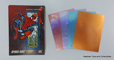 Marvel Universe Series 3 Card Set Near Complete w/ 4 Holograms Marvel Impel 1992