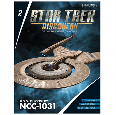 Eaglemoss Star Trek Starships  Discovery Collection Uss Discovery Issue # 2