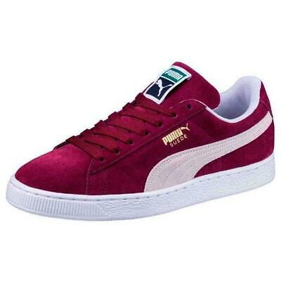 Noir Baskets Suede Classic Puma Blanche White Homme Sneakers Black DHIEW2Y9