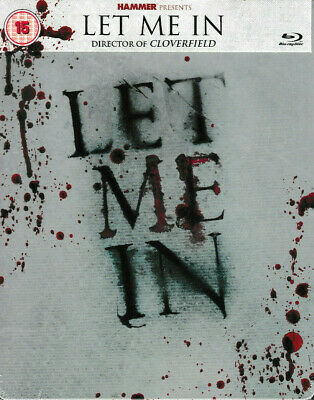 Let Me In - STEELBOOK Blu Ray - Brand New & Sealed
