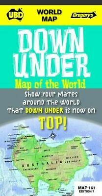 World Down Under map of the world -  upside down von UBD... | Buch | Zustand gut