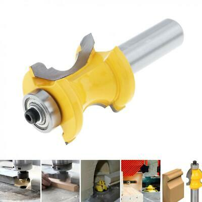1/2'' Concave Groove Router Bits Teeth Wood Milling Cutter 1-1/4'' Inch Blade