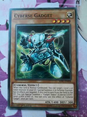 "YUGIOH!! 3x ""Cyberse Gadget"" SDPL-EN009! Common! Near Mint! 1. Edition!"