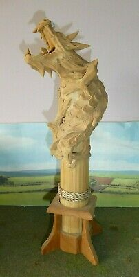 Fantastic Wooden Dragon,  Very Game Of Thrones ?