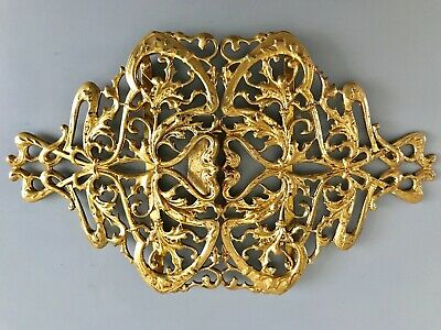 Antique Victorian  Art Nouveau (ca.1900) Ornate Belt Buckle