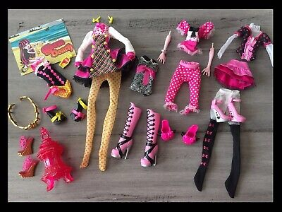 Monster High DOLL Draculaura Replacement Clothing Lot Accessories Hand & Arm