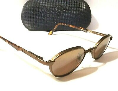 34453fef2a07 RETIRED MAUI JIM JAWS SUNGLASSES | Tort w/ HCL Bronze Polarized Lenses MJ  144-