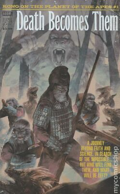 Kong on The Planet of the Apes (Boom) 1SUB 2017 Woody VG Stock Image Low Grade