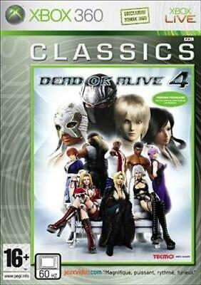 Xbox 360 - Dead Or Alive 4 **New & Sealed** Official UK Stock