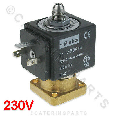 128Ir Parker S Ve128Ir 220-230V Zb09 9W Coil Coffee Machine Group Solenoid Valve