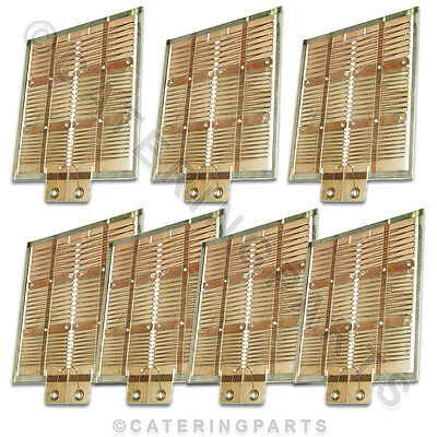 Set Old Style Heating Elements For Dualit 6 Slot Six Slice Toaster 7 X Elements