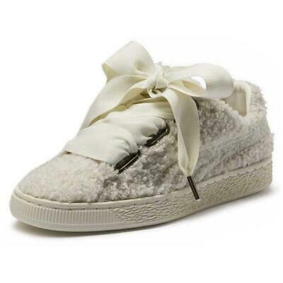 PUMA SELECT BASKET Heart Patent Blanc T40043 Baskets Femme