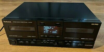Technics RS-X501 Stereo Twin Cassette Tape Deck Player Recorder HiFi Separate