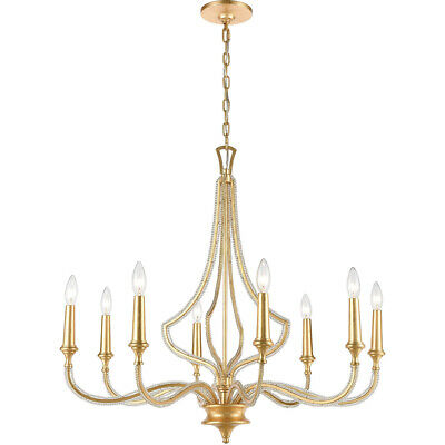 ELK Lighting 11177/8 La Rochelle Chandelier Parisian Gold Leaf