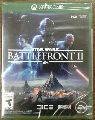 Star Wars Battlefront 2 (Xbox One, 2017) Factory Sealed