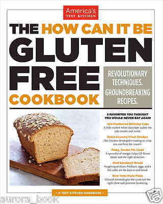 The How Can It Be Gluten Free Cookbook America's Test Kitchen paperback WT71509
