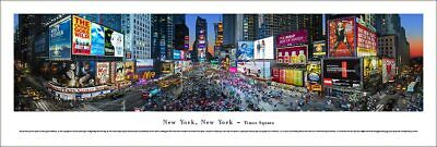 New York City Times Square BRIGHT LIGHTS BROADWAY Panoramic POSTER by Blakeway