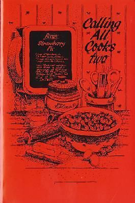 """""""Good Cond"""" Calling All Cooks Two (1988) Alabama Chapter #34 Paperback"""