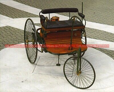 BENZ TRICYCLE 1886 (Carl BENZ) Fiche Auto #008940