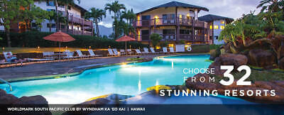 Worldmark by Wyndham Vacation Ownership 8000 credits/year MUST SELL