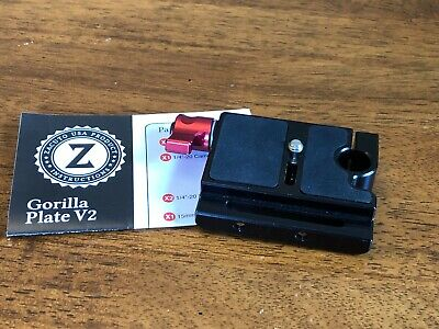 Zacuto Gorilla Plate v2 in great condition, ready to support a variety of camera
