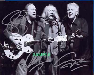 Crosby Stills Nash Band Reprint Photo 8X10 Signed Autographed Picture Man Cave
