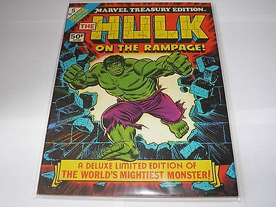 Marvel Treasury Edition 5 - The Hulk NEAR MINT HIGH GRADE UK Price