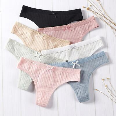 Women Cotton Underwear Female Sexy Lingerie G-string Underwear M Thong Girl J0L6