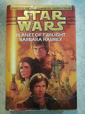 Star Wars: Planet of Twilight by Barbara Hambly 1st Edition 1997 SIGNED HC Novel