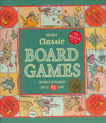 The Book of Classic Board Games (Klutz), Very Good Condition Book, Sackson, Sid,