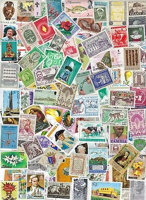 Worldwide - All Different MNH 100 Stamps 60 Countries..............D 19 Y 25