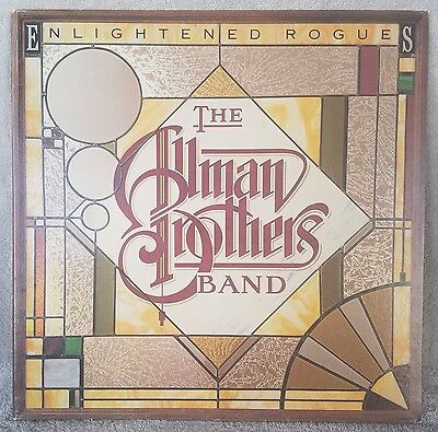 """ALLMAN BROTHERS BAND 1979 Enlightened Rogues 12"""" Vinyl 33 LP SOUTHERN ROCK VG+"""