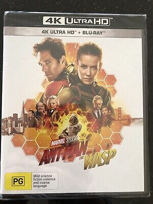 Ant-Man And The Wasp****4K Ultra Hd Blu-Ray****Region Free****New & Sealed