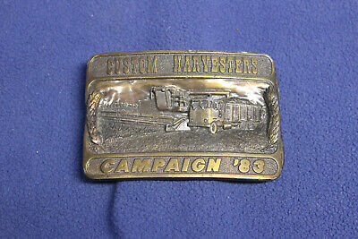 Custom Harvesters Campaign 1983 Belt Buckle limited edition