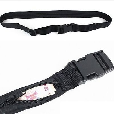 Secret Waist Money Belt Hidden Security Safe Pouch Wallet Ticket Travel Fh