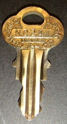 Original Northwestern NC244 Vending Key for Lock & Barrel Lock Peanut Gum ball