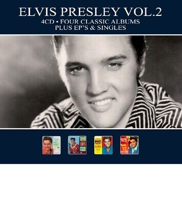 Elvis Presley - 4 Classic Albums Vol.2 CD (4) Reel To Reel Music NEW