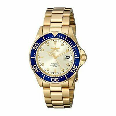 Invicta Men's Pro Diver 14124 Gold Stainless Steel  Watch