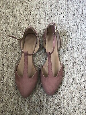 New look flat shoes size 4