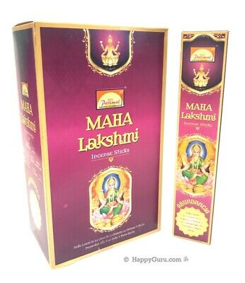 """Maha Lakshmi"" Parimal Incense Sticks Natural Masala (12x17g) 204g ॐ"