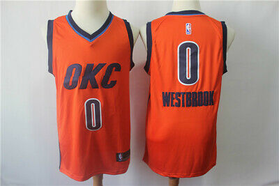 online store bb9c5 cd30e RUSSELL WESTBROOK OKLAHOMA City Thunder Swingman Jerseys ...