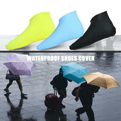 Silicone Overshoes Rain Waterproof Shoe Covers Boot Cover Protector Reusable