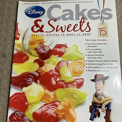Disney Cakes & Sweets Magazine Issue 15 (MAG ONLY)