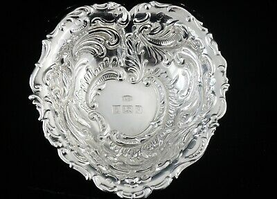 Immaculate Condition Heart Shaped Dish, W I Broadway & Co 1989