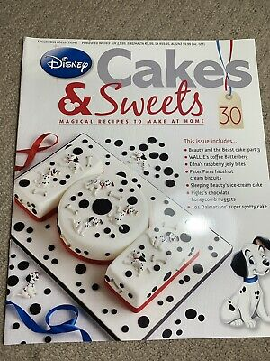 Disney Cakes & Sweets Magazine Issue 30 (MAG ONLY)